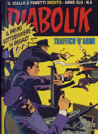 Cover Thumbnail for Diabolik Anno XLII (Astorina, 2003 series) #v42#8