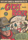 Cover for Ghost Rider (Atlas, 1950 ? series) #35