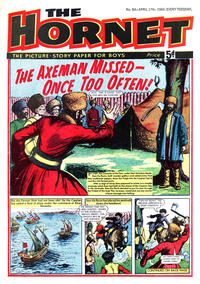 Cover Thumbnail for The Hornet (D.C. Thomson, 1963 series) #84