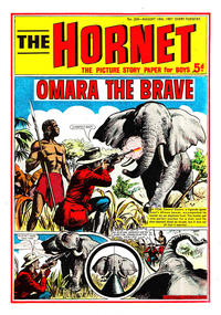 Cover Thumbnail for The Hornet (D.C. Thomson, 1963 series) #206