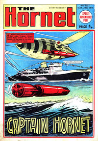Cover Thumbnail for The Hornet (D.C. Thomson, 1963 series) #603