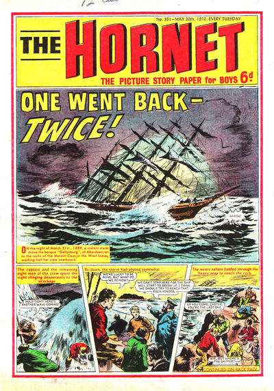 Cover for The Hornet (D.C. Thomson, 1963 series) #351