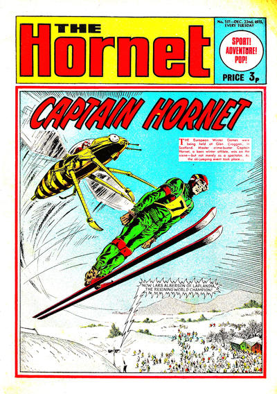 Cover for The Hornet (D.C. Thomson, 1963 series) #537