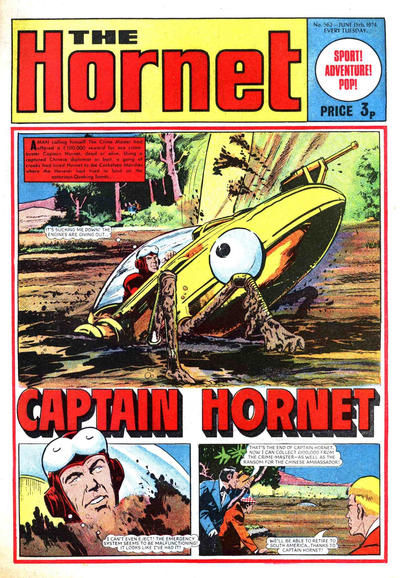 Cover for The Hornet (D.C. Thomson, 1963 series) #562