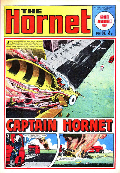Cover for The Hornet (D.C. Thomson, 1963 series) #564