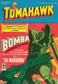 Cover Thumbnail for Tomahawk (Centerförlaget, 1951 series) #2/1969