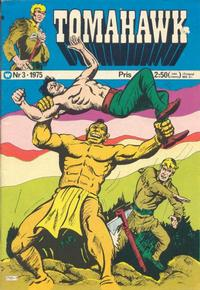 Cover Thumbnail for Tomahawk (Williams Förlags AB, 1969 series) #3/1975