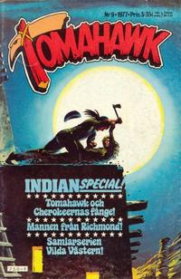 Cover Thumbnail for Tomahawk (Semic, 1976 series) #9/1977
