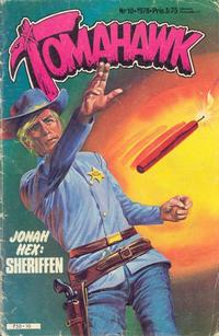 Cover for Tomahawk (1976 series) #10/1978