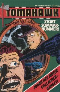 Cover for Tomahawk (1982 series) #7/1983