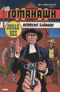 Cover for Tomahawk (1982 series) #11/1984