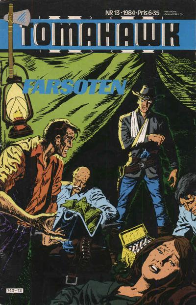 Cover for Tomahawk (1982 series) #13/1984