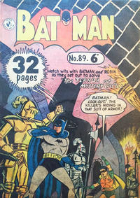 Cover Thumbnail for Batman (K. G. Murray, 1950 series) #89 [6d Variant]