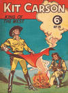 Cover for Kit Carson Cowboy Comics (The Land Newspaper, 1949 series) #15