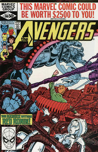 Cover Thumbnail for The Avengers (Marvel, 1963 series) #199 [Direct Edition]