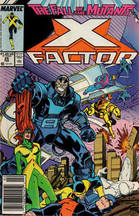 Cover for X-Factor (Marvel, 1986 series) #25 [Direct Edition]