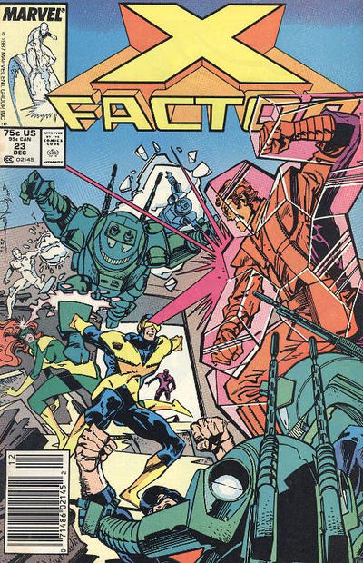 Cover for X-Factor (Marvel, 1986 series) #23 [Direct Edition]