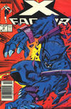 Cover Thumbnail for X-Factor (1986 series) #33 [Newsstand Edition]