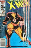 Cover Thumbnail for The Uncanny X-Men (1981 series) #207 [Newsstand Edition]