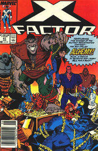 Cover for X-Factor (Marvel, 1986 series) #41 [Direct Edition]
