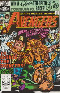 Cover Thumbnail for The Avengers (Marvel, 1963 series) #216 [Direct Edition]