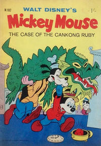 Cover Thumbnail for Walt Disney's Mickey Mouse (W. G. Publications; Wogan Publications, 1956 series) #102