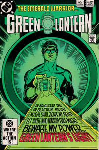 Cover for Green Lantern (DC, 1976 series) #155 [Newsstand Edition]