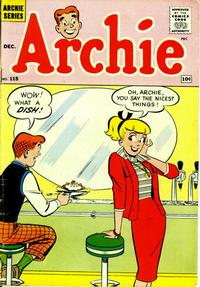 Cover Thumbnail for Archie (Archie, 1959 series) #115