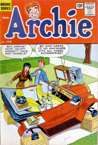 Cover Thumbnail for Archie (Archie, 1959 series) #135