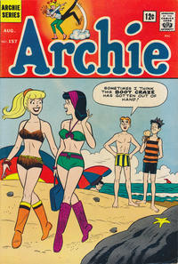 Cover Thumbnail for Archie (Archie, 1959 series) #157