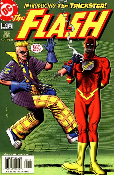 Cover for Flash (DC, 1987 series) #183
