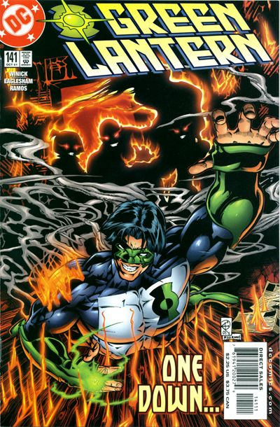 Cover for Green Lantern (DC, 1990 series) #141