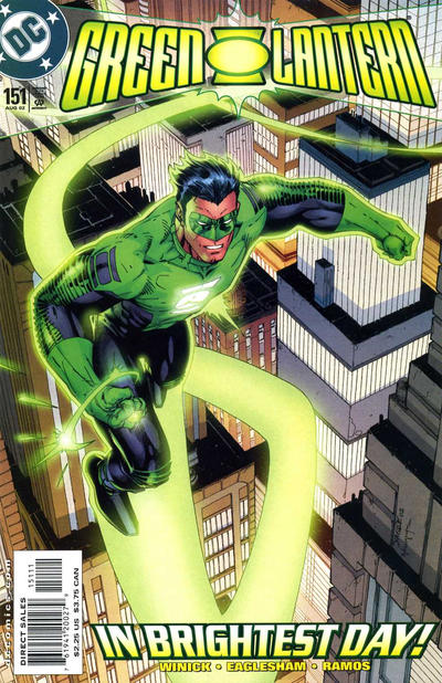 Cover for Green Lantern (DC, 1990 series) #151