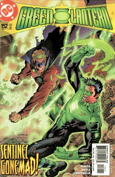 Cover for Green Lantern (DC, 1990 series) #152