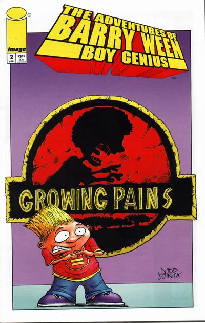Cover for The Adventures of Barry Ween, Boy Genius (Image, 1999 series) #2