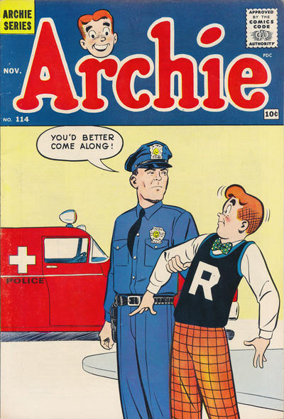 Cover for Archie (1962 series) #114