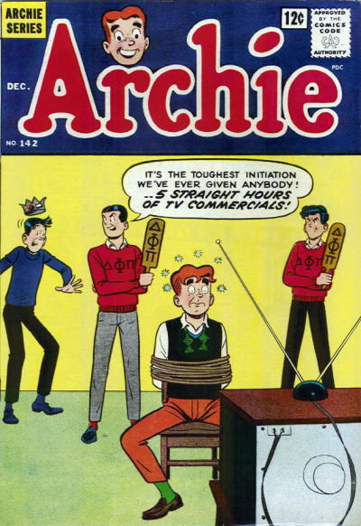Cover for Archie (1962 series) #142