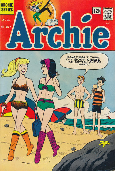 Cover for Archie (1962 series) #157