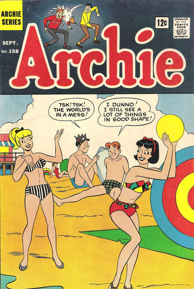 Cover for Archie (Archie, 1959 series) #158