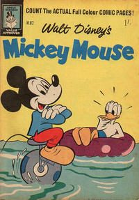 Cover Thumbnail for Walt Disney's Mickey Mouse (W. G. Publications; Wogan Publications, 1956 series) #62
