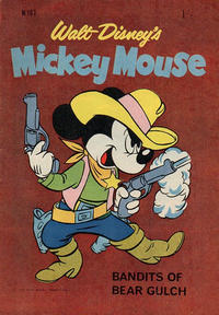 Cover Thumbnail for Walt Disney's Mickey Mouse (W. G. Publications; Wogan Publications, 1956 series) #107