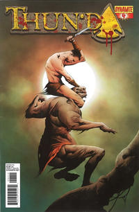 Cover Thumbnail for Thun'da (Dynamite Entertainment, 2012 series) #4