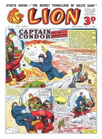 Cover Thumbnail for Lion (Amalgamated Press, 1952 series) #71