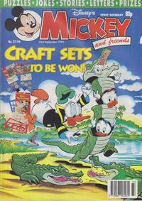Cover Thumbnail for Mickey and Friends (Fleetway Publications, 1992 series) #37/1994