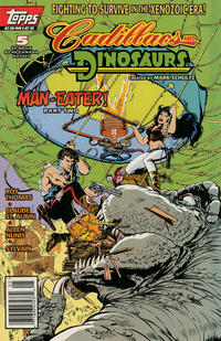 Cover Thumbnail for Cadillacs and Dinosaurs (Topps, 1994 series) #5 [Regular Edition]