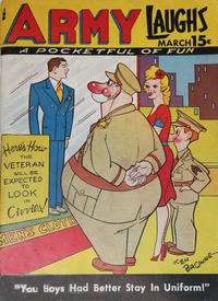 Cover Thumbnail for Army Laughs (Prize, 1941 series) #v5#12