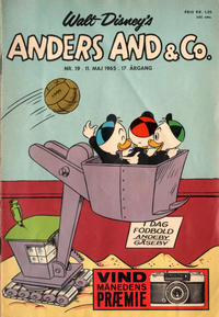 Cover Thumbnail for Anders And & Co. (Egmont, 1949 series) #19/1965