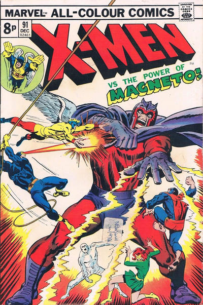 Cover for The X-Men (Marvel, 1963 series) #91