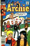 Cover for Archie (Archie, 1959 series) #376 [Canadian and British Price Variant]