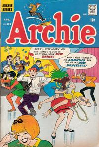 Cover Thumbnail for Archie (Archie, 1959 series) #172